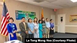 Thầy Cô giáo tình nguyện Trường Việt ngữ Thăng Long, Falls Church.