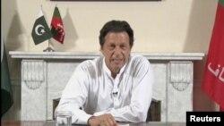 FILE - Pakistan's next Prime Minister Imran Khan.