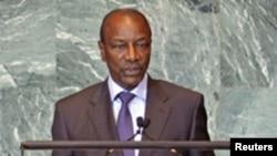 Le président guinéen Alpha Condé (archives)
