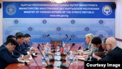 AQSh-Qirg'iziston muzokaralari: Bishkek, 25-fevral, 2019