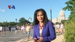 Reog Singolodoyo Ramaikan Parade di Washington D.C. - Liputan VOA