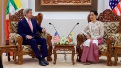 Kerry in Burma