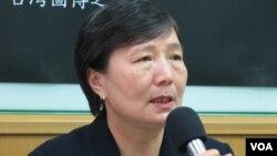 台湾前行政院副院长 叶菊兰(美国之音张永泰拍摄)