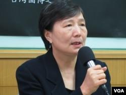 台灣前行政院副院長 葉菊蘭(美國之音張永泰拍攝)