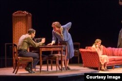 """Director John Tiffany's Broadway revival of Tennessee Williams' """"The Glass Menagerie"""" retells the classic tale of family, heartbreak and faded dreams. (Photo by Michael J. Lutch)"""