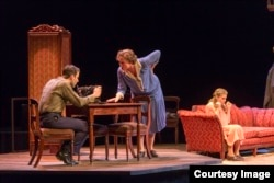 "Director John Tiffany's Broadway revival of Tennessee Williams' ""The Glass Menagerie"" retells the classic tale of family, heartbreak and faded dreams. (Photo by Michael J. Lutch)"
