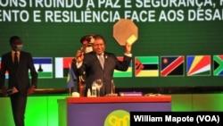 Presidente moçambicano, Filipe Nyusi, assume presidência da SADC, Maputo, 17 agosto 2020