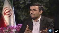 ປະທານາທິບໍດີ Mahmoud Ahmadinejad ແຫ່ງອີຣານ. ວັນທີ 16 ຕຸລາ 2011D
