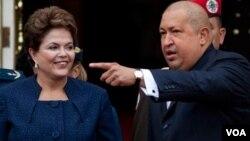 Los presidentes de Argentina, Brasil, Paraguay y Uruguay han estado buscando fórmulas jurídicas para facilitar la entrada de Venezuela al bloque económico.