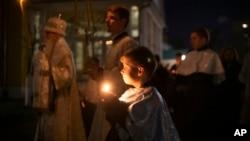 APTOPIX Virus Outbreak Russia Orthodox Easter