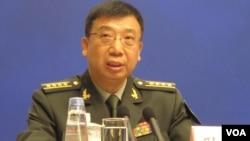 中国国防部发言人耿雁生