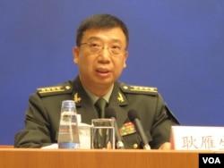 Phát ngôn viên của Bộ quốc phòng Trung Quốc Cảnh Nhạn Sinh.