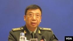 中国国防部发言人耿雁生(资料照)