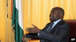 ປະທານາທິບໍດີ Ivory Coast ທ່ານ Laurent Gbagbo