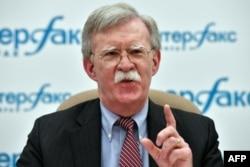 John Bolton, asesor de seguridad nacional del presidente de EE.UU., Donald Trump. Foto de archivo.