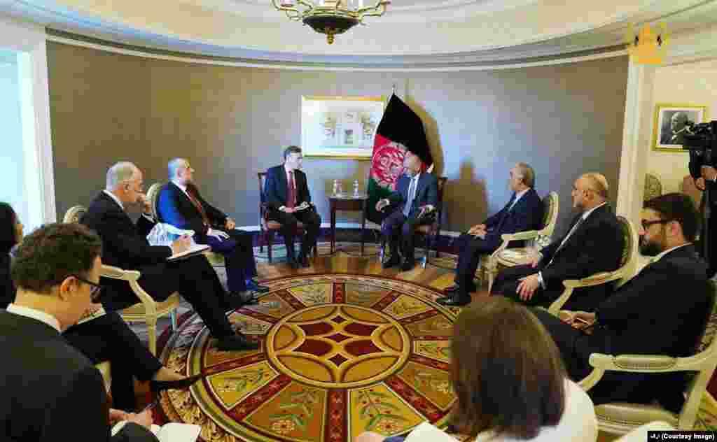 دیدار رییس جمهور غنی با جیک سولیوان، مشاور امنیت ملی قصر سفید