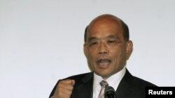 Chủ tịch đảng Dân Tiến của Đài Loan, ông Tô Trinh Xương tuyên bố ông muốn để ngỏ cửa cho Trung Quốc