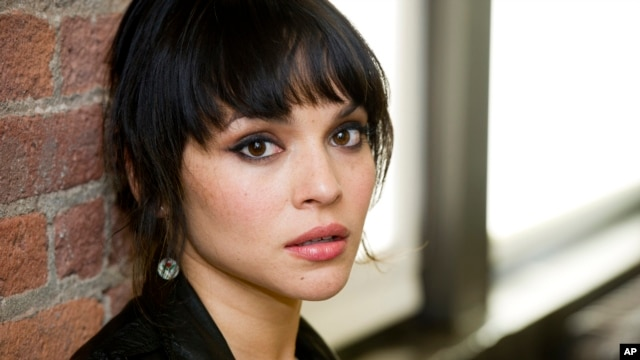 Norah Jones poses for a portrait in New York, April 9, 2012.