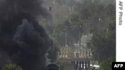 منطقه سبز در بغداد همزمان با سفر بایدن هدف خمپاره قرار گرفت