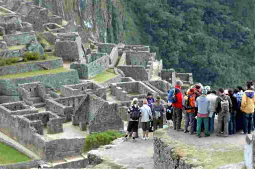Las ruinas de Machu Picchu, cerca de la ciudad peruana de Cuzco,