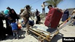 Іракські біженці з району Рамаді