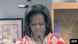 Prva dama SAD Mišel Obama veliki je pobornik zdrave ishrane