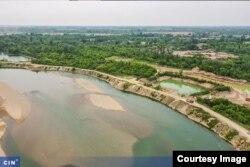 Šljunak u koritu rijeke Drine
