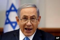 FILE - Israeli Prime Minister Benjamin Netanyahu.