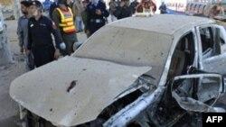 Pakistanın şimal qərbində bomba hücumları polisləri hədəf alıb