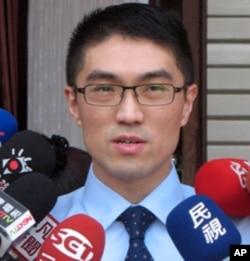 台湾国民党立院党团书记长谢国梁6月13号在立法院