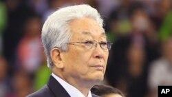장웅 북한 IOC 위원 (자료사진)