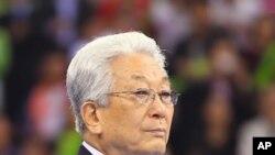 북한 IOC 위원으로 2010년 중국 광저우 아시안게임에 참관했던 장웅 현 국제태권도연맹 총재