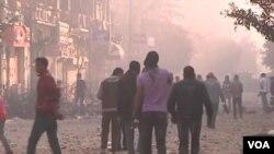 Unjuk rasa berbuntut kerusuhan di Kairo dan Suez memicu percepatan pelaksanaan Pemilu di Mesir (foto: dok).