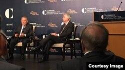 Prezident Nazarboyev bilan davra suhbati, Vashington, 31-mart, 2016