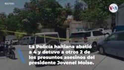 Cuatro sospechosos muertos y otros dos detenidos tras el magnicidio en Haití