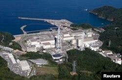 일본 미야기현 오나가와의 핵발전소.
