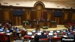 Специальное заседание парламента Армении по вопросу избрания премьер-министра