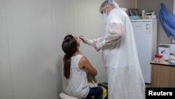"""Testiranje na koronavirus u Institutu """"Batut"""""""