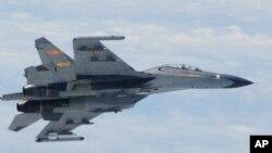 Một chiếc chiến đấu cơ của Trung Quốc.