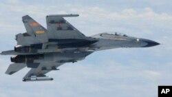 Самолет Су-27 ВВС Китая