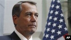 លោក ដ្យន បេនើរ៍ (John Boehner) ប្រធានសភាតំណាងរាស្ត្រអាមេរិកខាងគណបក្សសាធារណរដ្ឋនិយម។