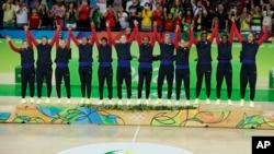 España logró la primera medalla olímpica en la historia del baloncesto femenino español.