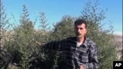 巴勒斯坦农民伊姆兰.阿克拉姆