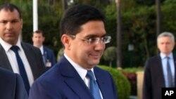 Le ministre marocain des Affaires étrangères Nasser Bourita, 14 juin 2017.