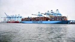 ျမန္မာစစ္တပ္ပုိင္ဆိပ္ကမ္းေတြမွာ Maersk ကုမၸဏီ ကုန္တင္ ကုန္ခ်လုပ္ေတာ့မည္မဟုတ္