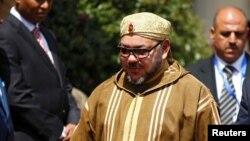 Le roi du Maroc Mohammed VI lors d'une viiste à Addis Abeba, Ethiopie, 19 novembre 2016.
