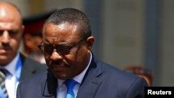 Le premier ministre éthiopien Hailemariam Desalegn, 19 novembre 2016