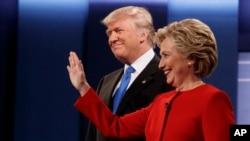 Cuộc tranh luận tổng thống đầu tiên giữa hai ứng cử viên tổng thống Mỹ, Donald Trump và Hillary Clinton, được tổ chức tại Đại học Hofstra ở Hempstead, New York, ngày 26/9/2016.