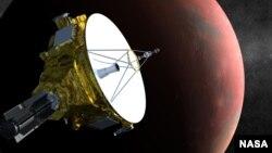 명왕선 탐사선 '뉴허라이즌스' 그래픽 이미지.