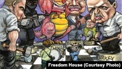 Freedom House Press Freedom Report